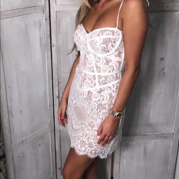 For Love Lemons Tati Corset Dress Nwt
